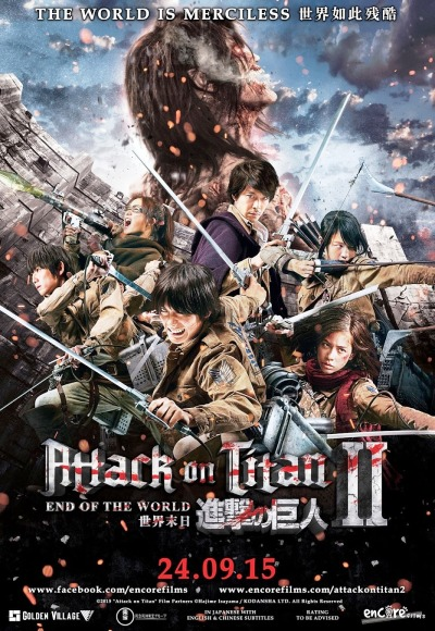Attack on Titan II - End of the World (2015) (In Hindi) Watch Full Movie Free Online